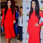 Katrina dazzles the Jio MAMI red carpet wearing a red gown