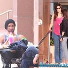 Again, Sushant Singh Rajput and Kriti Sanon captured in a common place