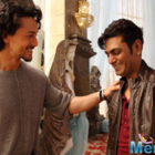 Nawazuddin learning dance steps from Tiger for the flick Munna Michael