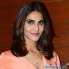 Vaani Kapoor styles up for Befikre  music channel interviews
