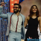 Ranveer, Vaani promote Befikre on Super Dancers reality show