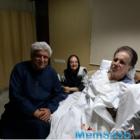 Javed Akhtar meets Dilip Kumar in Lilavati Hospital