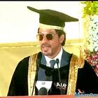 SRK received an honorary doctorate from Hyderabad University