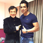 Chinese superstar Jackie prized Sonu his autographed martial arts gloves