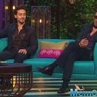 I'd give Deepika Padukone a big kiss, says Tiger Shroff on KWK show
