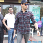 Rumored couple Alia and Sidharth spotted post lunch