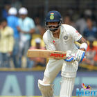 Virat Kohli is the first player who scored double ton in back to back 4 test series