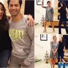Madhuri Dixit teaches the signature step of 'Tamma-Tamma' to Alia and Varun
