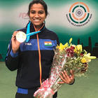 Pooja Ghatkar takes bronze, Deepak finishes fifth at the shooting world cup