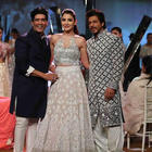 Bollywood celebs rocked the night as they walk the ramp at Mijwan Summer 2017