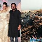 Padmavati: The film's sets were vandalized again, put on fire in Kolhapur