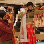 Irrfan Khan flaunts his saree draping skills for his upcoming flick Hindi Medium!
