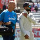 Due to the shoulder injury, Virat Kohli doubtful for start of IPL 2017
