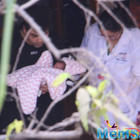 Karan Johar took his twins Yash and Roohi to home on Wednesday
