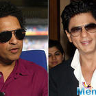 Superstar SRK considers batting great Sachin Tendulkar as his guiding light