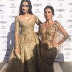 Cannes 2017 Day 2: Sonam Kapoor dazzles in a gold Elie Saab gown on the red carpet