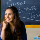 Rani Mukerji Wraps Up The Shoot Of Hichki In Bandra