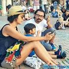 Family vacation in Italy: Aamir Khan is seen enjoying with wife Kiran Rao, son Azad Rao Khan