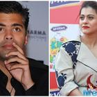 Find out what the Kajol says on again working with Karan Johar?