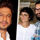 SRK attends Satyamev Jayate Water Cup on the behalf of Aamir and Wife Kiran Rao