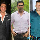 SRK, Salman, Akshay among world's top 10 highest-paid actors