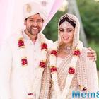 'I couldn't be happier': Aftab renews marriage vows with Nin in a grand ceremony