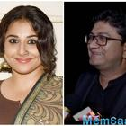Vidya Balan attends first meeting of Prasoon Joshi-led Censor Board