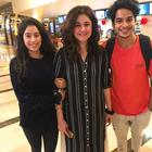 Lovebirds Ishaan-Jhanvi spotted together after a movie date