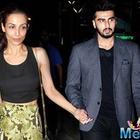 Malaika Arora and Arjun Kapoor were in Dubai on the same day?