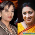 'Padmavati': Shabana Azmi slams Smriti Irani for silence, calls for IFFI's boycott