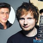 British singer Ed Sheeran thinks a film collaboration with Shah Rukh Khan would be quite cool