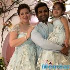 Sachiin Joshi and his wife Urvashi Sharma spotted with their newborn boy as they head home