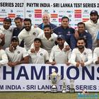 India vs Sri Lanka, 3rd Test: Draw helps India equal record for most consecutive series wins