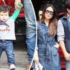 Saif's hilarious reaction to baby Taimur's first steps