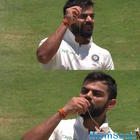 Anushka are you watching? Virat Kohli dedicates 150 knock by kissing wedding ring