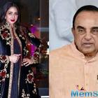 BJP leader Subramanian Swamy says Sridevi was murdered