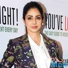 Sridevi to be honoured for immense contribution to Indian cinema on Women's Day