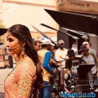 Katrina Kaif goes all desi on the sets of 'Zero'
