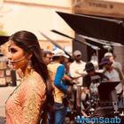 Katrina Kaif goes all desi on the sets of 'Zero'