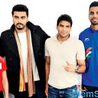 Arjun Kapoor cheers for team india at commonwealth games in Australia