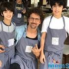 The best version of Hrithik Roshan comes out with kids!