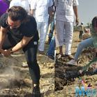 Aamir Khan, Alia Bhatt head to village for 'shramdaan' on International Labour Day