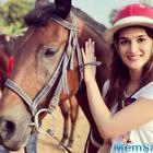 Kriti Sanon takes horse riding lessons for Panipat
