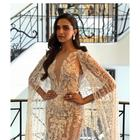 Cannes 2018: Deepika Padukone looks Angelic in a sheer white caped gown