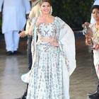 Fashion, last week's look: Jacqueline dazzling with her traditional game on-point.