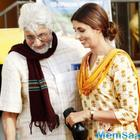 Shweta Bachchan Nanda shoots with Dad Amitabh Bachchan for a commercial