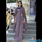 Sonam Kapoor's fusion saree for Sanju's trailer launch spells elegance!