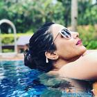 Hina Khan trolled for swimsuit pics, just minutes after posting