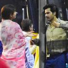 Convey a look: Varun Dhawan, Anushka Sharma shoot on Mumbai streets for Sui Dhaaga.