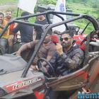 Suniel Shetty Gets Muddy In Mumbai Rains